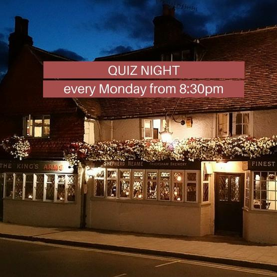 Kings Arms, Dorking - Quiz